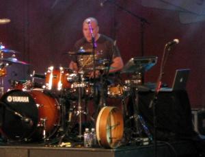 Kris at the Drumkit
