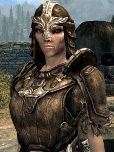 Alarrah in Leather Armor