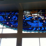 Left edge of the mural in Sea-Tac airport