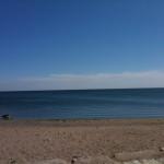 The beach at Lake Ontario