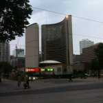 Toronto spaceship building